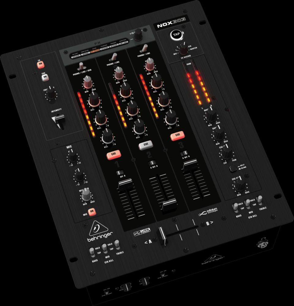 behringer nox303 usb pro dj mixer. Black Bedroom Furniture Sets. Home Design Ideas