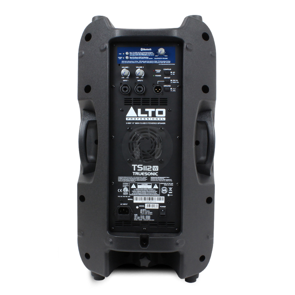 alto ts112w wireless active speaker getinthemix. Black Bedroom Furniture Sets. Home Design Ideas