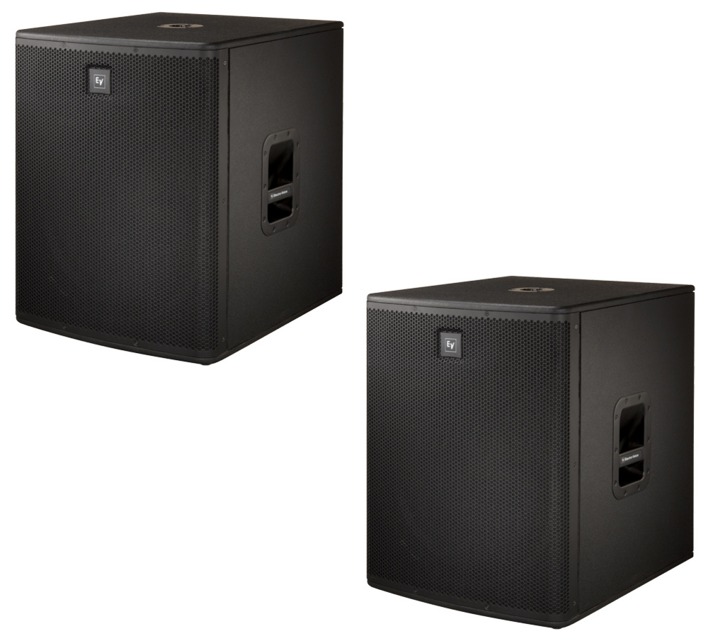 electro voice zlx15p elx118p active pa package. Black Bedroom Furniture Sets. Home Design Ideas