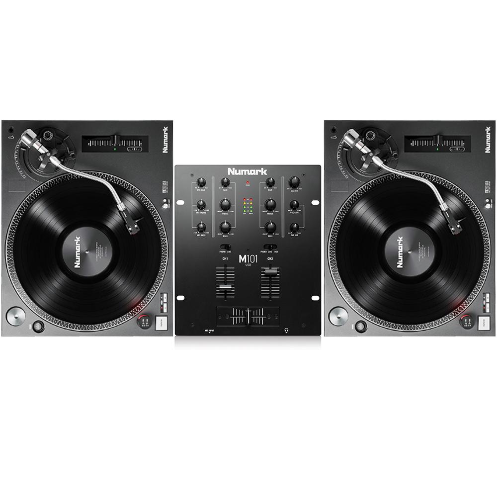 Numark TT250 USB Turntables & Numark M101 USB Mixer ...