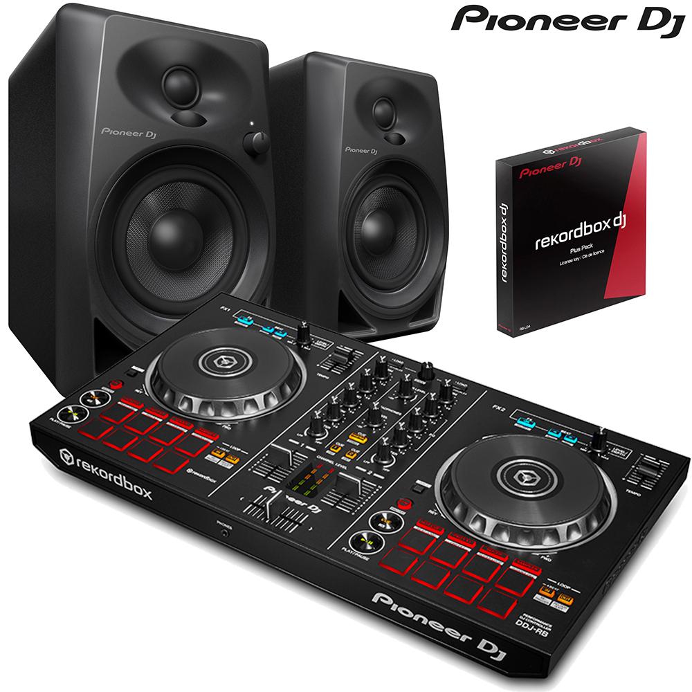 pioneer ddj rb pioneer dm 40 speaker package. Black Bedroom Furniture Sets. Home Design Ideas