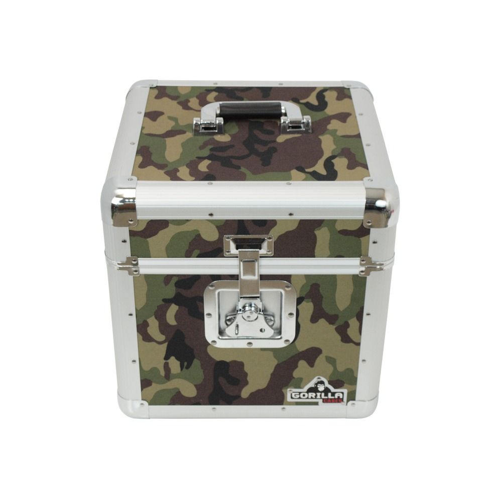 Gorilla Gc Lp100 Camo Green 12 Quot Vinyl Record Storage Box