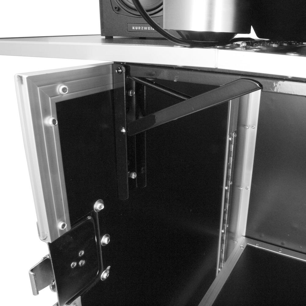 Gorilla Djs Foldable Flight Case Dj Stand Booth