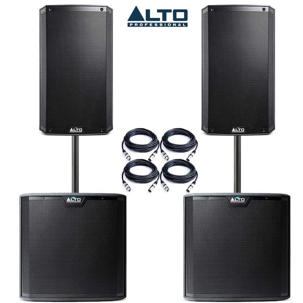 alto 2x ts215 speakers 2x ts215s package getinthemix. Black Bedroom Furniture Sets. Home Design Ideas