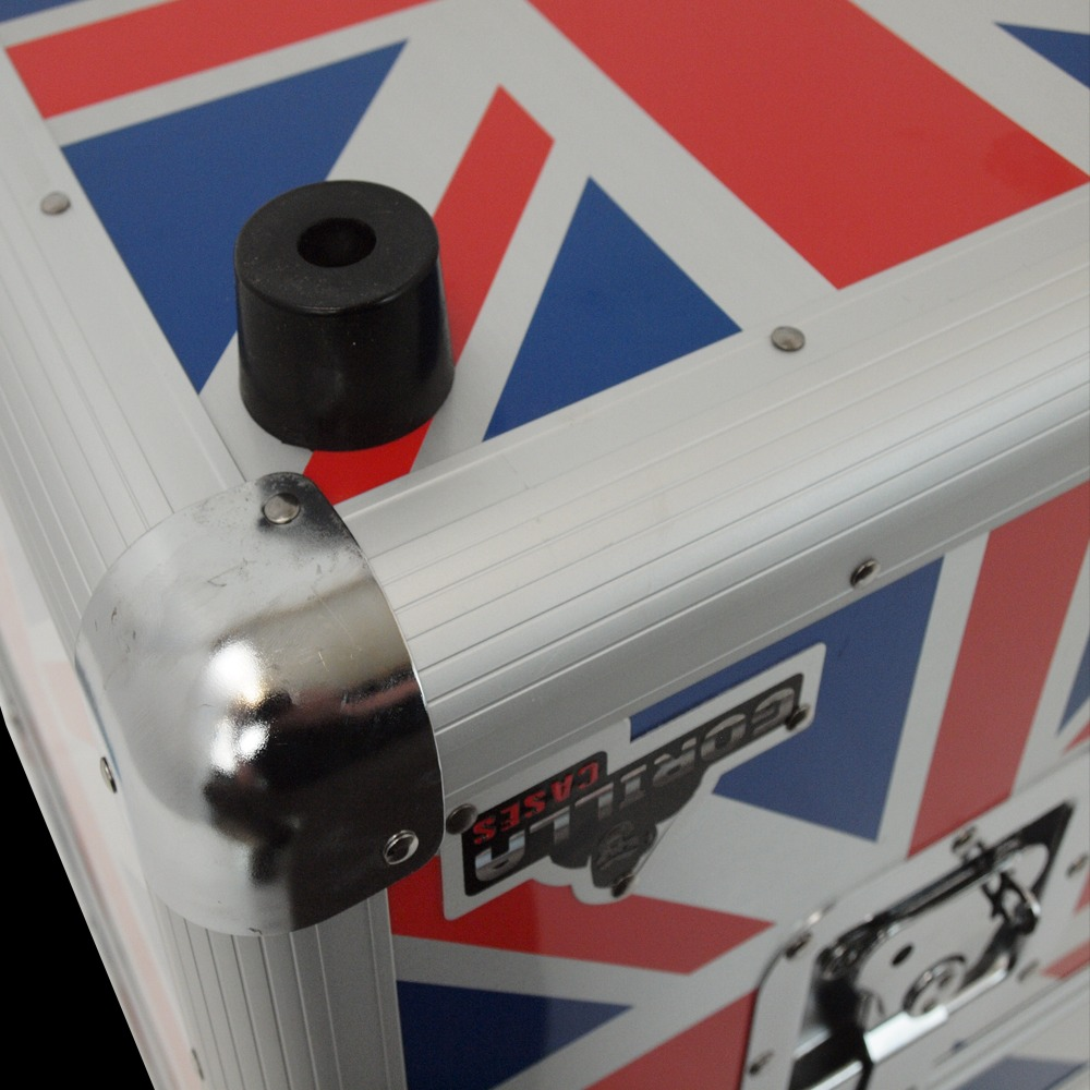 Gorilla Lp100 12 Quot Lp Vinyl Record Storage Box Union Jack