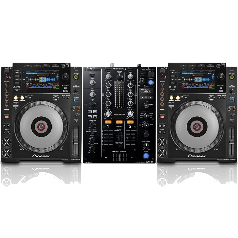 Pioneer cdj900 nexus and pioneer djm 450 package getinthemix - Table de mixage pioneer djm 5000 ...