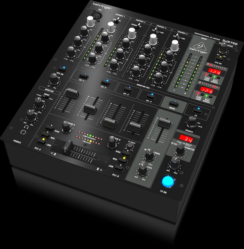 dj equipment dj mixers behringer djx750 mixer getinthemix. Black Bedroom Furniture Sets. Home Design Ideas