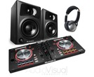 Numark Mixtrack Pro 3 + M-Audio AV32 + HF125 Headphone Package