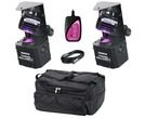 2x Equinox Fusion Roller MAX with Bag & Controller