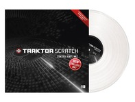 Native Instruments Traktor Scratch Pro Control Vinyl MK2 White