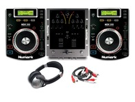 Numark NDX200 & Numark M3 Mixer CD DJ Package