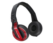 Pioneer HDJ500 Headphones Red