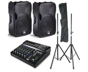 Alto TS112A Speakers & Alto ZMX122 FX Mixer PA Package