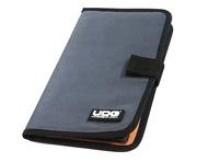 UDG CD Wallet 24 Steel Grey/Orange