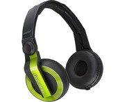 Pioneer HDJ 500 Green DJ Headphones