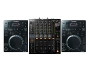 Pioneer CDJ350 Black & DJM850 Black Package