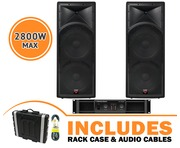 Cerwin Vega INT252 v2 Speakers & CV2800 Amp Package
