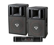 Cerwin Vega CVP1152 Speakers & CV1800 Amp Package