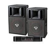 Cerwin Vega CVP1152 Speakers & CV2800 Amp Package