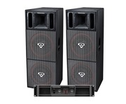 Cerwin Vega CVP2153 Speakers & CV2800 Amp Package