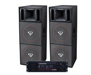 Cerwin Vega CVP2153 Speakers & CV5000 Amp Package