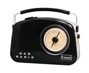 Steepletone Dorset Black DAB FM/AM Radio