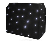 Equinox DJ Booth System & Equinox DJ Booth LED Starcloth Package