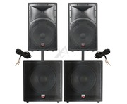 Cerwin Vega Intense 152 V2 & 118 V2 Package