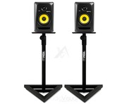 Pair Gorilla Studio Monitor Speaker Stands