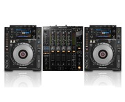 Pioneer CDJ900 Nexus Pair & DJM850 Black Package