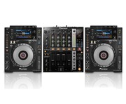 Pioneer CDJ900 Nexus Pair & DJM750 Package