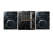 Pioneer CDJ350 Black & DJM750 Black Package