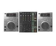 Pioneer CDJ350 Silver & Behringer DJX900USB Package