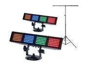 2x American DJ Color Burst LED With T-Bar