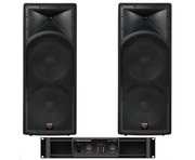 Cerwin Vega INT252 v2 Speakers & CV1800 Amp Package