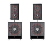 Cerwin Vega CVA28 Speakers & CVA115 Subs Package