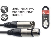 Stagg Male XLR To Female XLR Microphone Cable