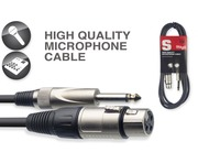 STAGG SMC10XP Cable Mono Jack To Female XLR Microphone Lead