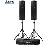 Alto Trouper PA System Pair with Stands