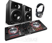 Numark Mixtrack Pro 3 with M-Audio AV32 Speakers Package