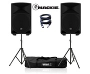 Mackie Thump 12 (Pair) with GSS-Kit and XLR Cable Package
