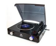 GPO Stylo Black Turntable