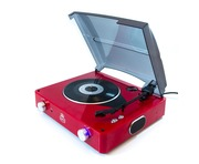 GPO Stylo Red Turntable
