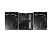 Pioneer PLX-1000 and Pioneer DJM750 Mixer Package