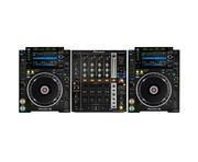Pioneer CDJ-2000 NXS2 and Pioneer DJM750