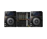 Pioneer XDJ-1000 and Pioneer DJM750