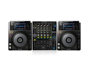 Pioneer XDJ-1000 and Pioneer DJM900-NXS2