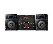 Pioneer XDJ-1000 and Pioneer DJM2000
