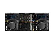 Pioneer XDJ-700 and DJM750 Package
