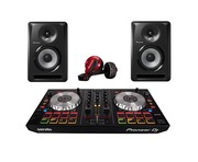 Pioneer DDJ-SB2 DJ Controller with Headphones & Monitors
